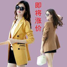 Trincheira magro ocasional terno casaco fashion blazer de médio longo das mulheres 2013 outono das mulheres US $47.43