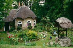 Cottage and Garden, Isle of White, United Kingdom