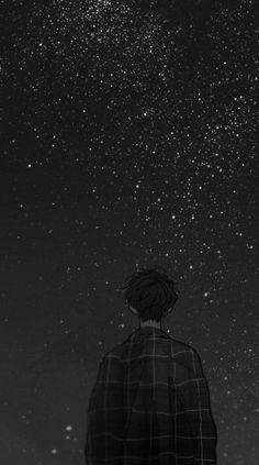 Nhắm nhìn những vì sao kia nhưng lại nghĩ tới em