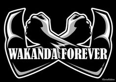 'Wakanda Forever' by Drobbins Black Panther Party, Black Panther Marvel, Arte Bob Marley, Iron Man, Captain America, African American Art, My Black Is Beautiful, Cultura Pop, Black Power