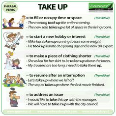 Use up phrasal verb meaning