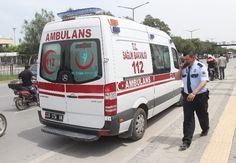 Hırsızlar Olay Yerinden Ambulansla Kaçtı