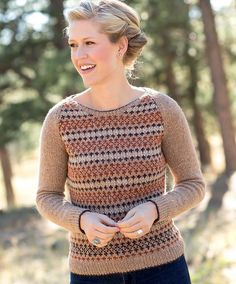 Sargent Pullover pattern by Amy Christoffers