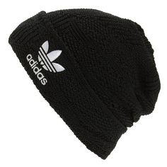 Men's Adidas Cuffed Beanie ($24) ❤ liked on Polyvore featuring men's fashion, men's accessories, men's hats, black, vintage mens accessories, vintage mens hats, mens beanie and mens hats