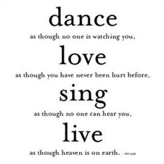 Dance - Souza Don't Quote Me on That #quotes