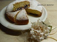 Torta morbida con philadelphia e nutella