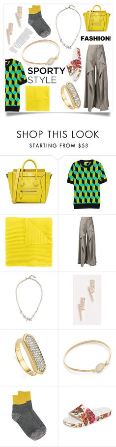 """Fashion approachs me"" by emmamegan-5678 ❤ liked on Polyvore featuring Michael Kors, N.Peal, Anne Sofie Madsen, Iosselliani, Sydney Evan, Monica Vinader, Marc Jacobs, Missoni, Melissa and modern"
