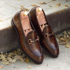 Customize your own pair of bespoke shoes or get inspired by our design repository with hundreds of handmade shoes Bit Loafers, Brown Loafers, Loafer Shoes, Loafers Men, Tassel Loafers, Leather Loafers, Best Mens Loafers, Custom Made Shoes, Custom Design Shoes