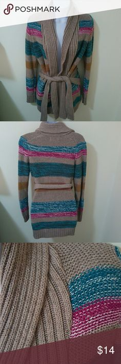 Old Navy Striped Cardigan Excellent Condition Old Navy Sweaters