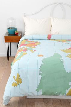 Comforter with world map google search my beds pinterest map duvet cover urbanoutfitters gumiabroncs Gallery
