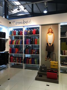 The newly remodeled KAH Lifestyle store in Guatemala City, featuring Bombata Bags.