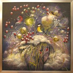 Jitka Gavendová - Zima Czech Republic, Friends, Painting, Art, Photograph Album, Art Background, Amigos, Boyfriends, Painting Art