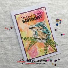 Crazy Bird, Bees Knees, Birds, Organization, Reading, Birthday, Stamping, Design, Art
