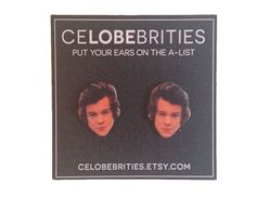 Harry Styles Earrings by celobebrities on Etsy https://www.etsy.com/listing/216855364/harry-styles-earrings