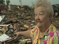 This is such a powerful and emotional video. What matters is love, not things.  As terrible as it is for those who lost everything, I am so happy for those who have their lives.  Woman goes back to her house of rubble after Oklahoma tornado to look for her lost dog and finds him.