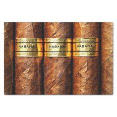 #gold - #Habana Cuban Cigars Club Smoke Luxury Tissue Paper