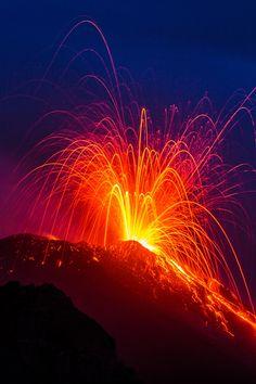 Lavaexplosion@Stromboli