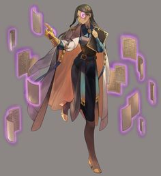 Pin by ktb - katie binkley on strong female characters art i Character Design Animation, Female Character Design, Character Creation, Character Design References, Character Drawing, Game Character, Character Concept, Concept Art, Dnd Characters