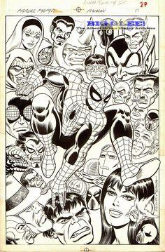 The Amazing Spider-Man, art by John Romita Sr.