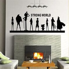 อย่าช้า  LZ Wall Decal Mural Sticker Anime Manga Poster Girl Naruto FinalFantasy Hero One Piece Quote Sign Words (Black) - intl  ราคาเพียง  410 บาท  เท่านั้น คุณสมบัติ มีดังนี้ Application: Wall and any smoothsurface Removable and repositionable with no stickyresidue Material: Removable and envi