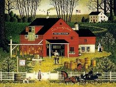 """Mr. Swallowbark"" by Charles Wysocki"