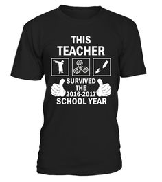 This Teacher Survived The 2016-2017 This Teacher Survived T-shirt