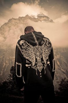 Perspective...love this shot. Affliction jacket