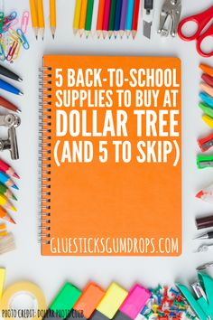 5 Back to School Supplies to Buy at Dollar Try (And 5 to Skip)