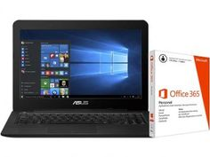 Notebook Asus Z450 Intel Core i5 4GB 1TB - Windows 10 LCD 14 + Pacote Office 365 Personal