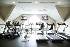 State of the art fitness center • Governors Towne Club