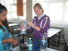 Global experiment in progress at Scoala Gimnaziala 4 Fratii Popeea, Romania.