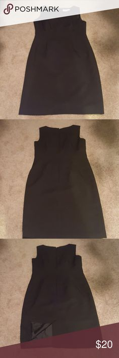 9 & CO. Suit Separates black dress This is a very nice black suit dress that is perfect for wearing on its own on a warmer day or with a suit jacket on cooler days. It is sized an eight, but runs more like a size six in my opinion. It has only been worn one or two times and is in very good used condition from a smoke-free home. 9 & Co. Dresses