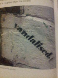 Lol vandalised