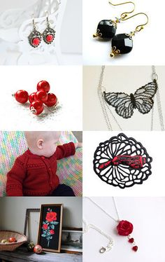 red @ blak by Mila on Etsy--Pinned with TreasuryPin.com