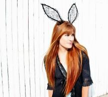 50  Easy Halloween Costumes For Adults: DIY Lace Bunny Ears For Halloween