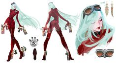 Jeanne Concept from Bayonetta 2