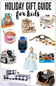 Holiday Gift Guide for Kids | Fun Christmas gift ideas that kids will love!
