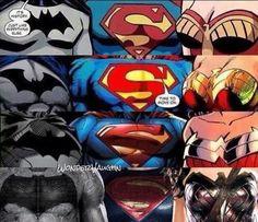 Dc Comics Superheroes, Dc Comics Characters, Marvel Dc Comics, Batman Vs Superman, Spiderman, Funny Toons, Dc Trinity, Comics Universe, Dc Heroes