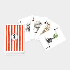 Tim Burtons Playing Cards - Someone needs to get me these now or I will hunt you all down and kill you!!!