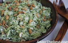 Shaved Brussels Sprout Salad With Casaer Dressing - Savor the Best Shaved Brussel Sprout Salad, Brussels Sprout, Sprouts Salad, Healthy Junk Food, Healthy Salads, Healthy Recipes, Meat Salad, Rabbit Food, Kinds Of Salad
