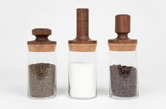 Love these jars / Kaffee Tee Zucker