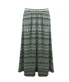 #Long Skirt #Aztec print