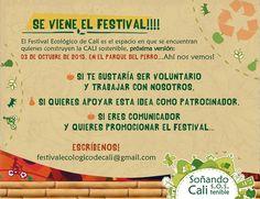 Festival Ecológico de Cali #CaliCo #Cali #DeCaliSeHablaBien #ConsumoConsciente #ConsumoResponsable #HabitosSaludable #productocolombiano #compracolombiano #yocreoencali #AgendaCali #CaliEcológico