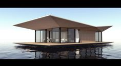 One of Malcew's houseboat concept designs- amazing!