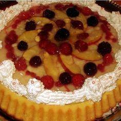 Egyszerű, de nagyszerű gyümölcstorta Recept képpel - Mindmegette.hu - Receptek