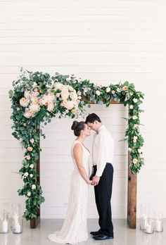 wedding ceremony idea; featured photographer: Emilie Anne