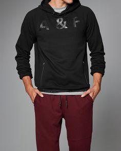 Mens Active Zip Pocket Hoodie   Mens Tops   eu.Abercrombie.com