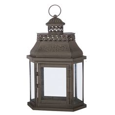 Antique-Like Metal Lantern