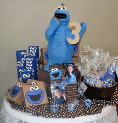 Think I'm liking the Cookie Monster theme
