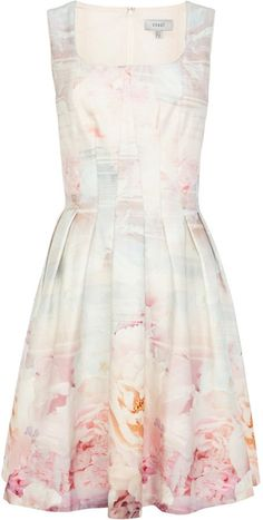 Pin for Later: Beautiful Vintage-Inspired Dresses to Wear to Summer Weddings Coast Almina Print Dress Coast Almina Print Dress (£115)